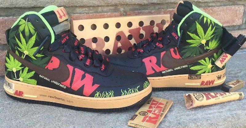 Lanzan modelo de zapatillas pro cannabis
